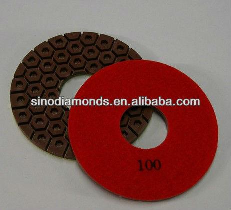 Wet Diamond Polisher Pad for concrete floor polishing for selling