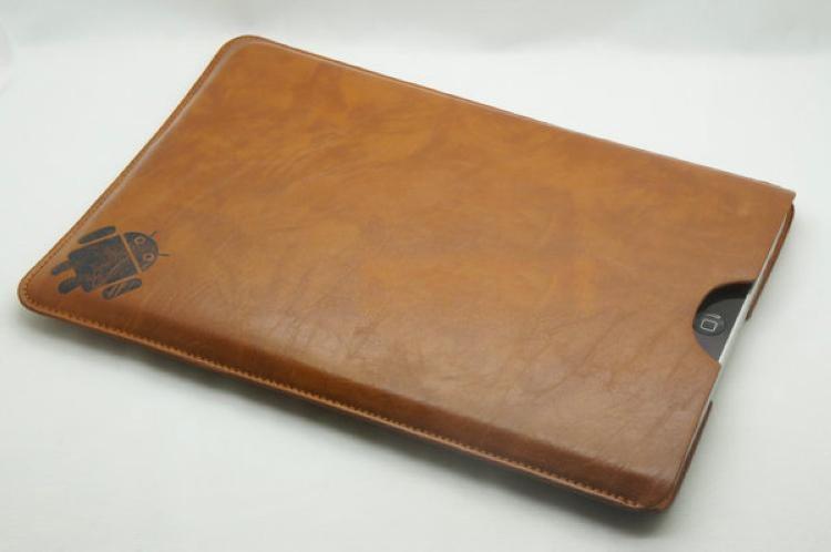 Чехол из комбинированной кожи для планшета
