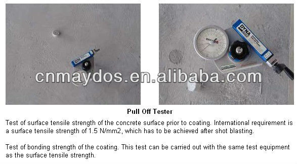 China Top Five Paint Factory- Maydos Self Leveling Epoxy Resin Concrete Sealer Paint