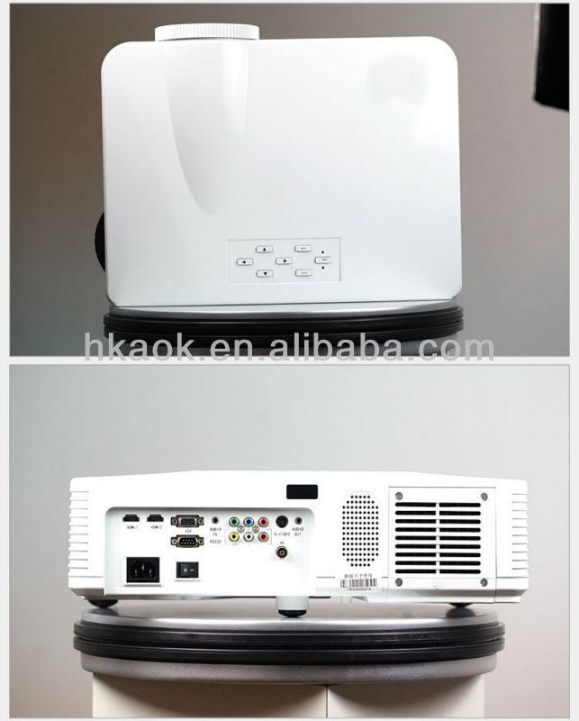short throw full hd projector HDMI Beamer 1080P 3500 Lumen XGA Video Projector 3d proyector