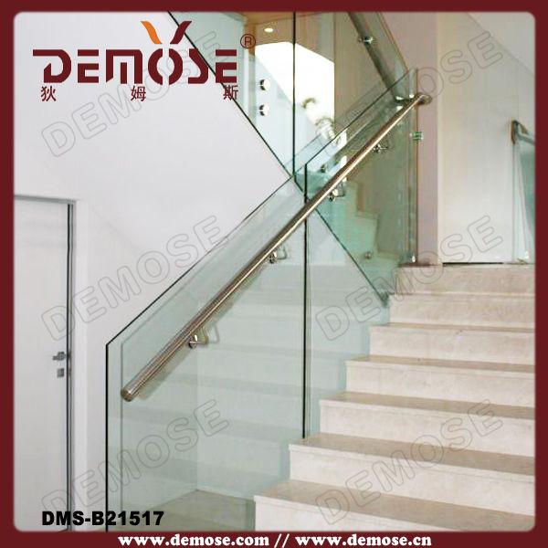 china de barandillas de cristal de las escaleras interiores precio