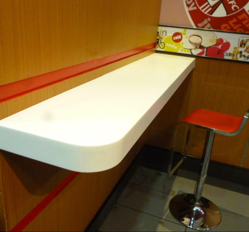Zuiver wit stevige ondergrond bartafel/bar salontafel/lange smalle ...