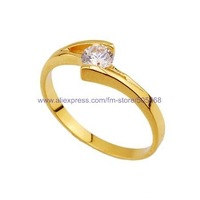 Кольцо 50 pcs/lot fashion ring luxurious gold ring high-grade ring best jewelry best gift