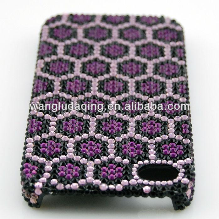 Full Diamond Cases for I phone - 4,4s,5 Samsung HTC LG new design cheap mobile phone cases Bling Diamond Crystal Case