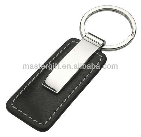 Promotion corporate gift real genuine / PU leather logo key tag, key holder, keyring, keychain, key chain, key ring, key fob