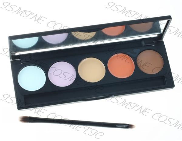 New Professional 5 couleur Camouflage Palette correctrice de palette ...