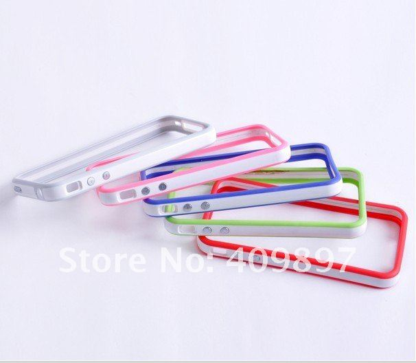 Wholesale high quality Bumper Frame Case for iPhone 4 4S free shipping