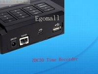 Прибор записи посещаемости по отпечаткам пальцев Egomall TFT TCP/IP ZDC30