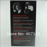 Free shipping EMS/DHL Top quality Beats of Pro  Black/Whte  By dr dre Dropship wholesale 2pcs/lot