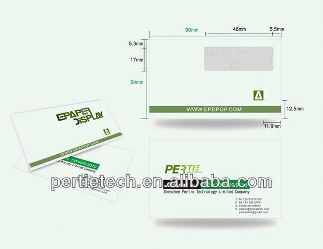 첨단 기술 전자 디스플레이 전자- 종이 eink 광고 디스플레이 보드 ...