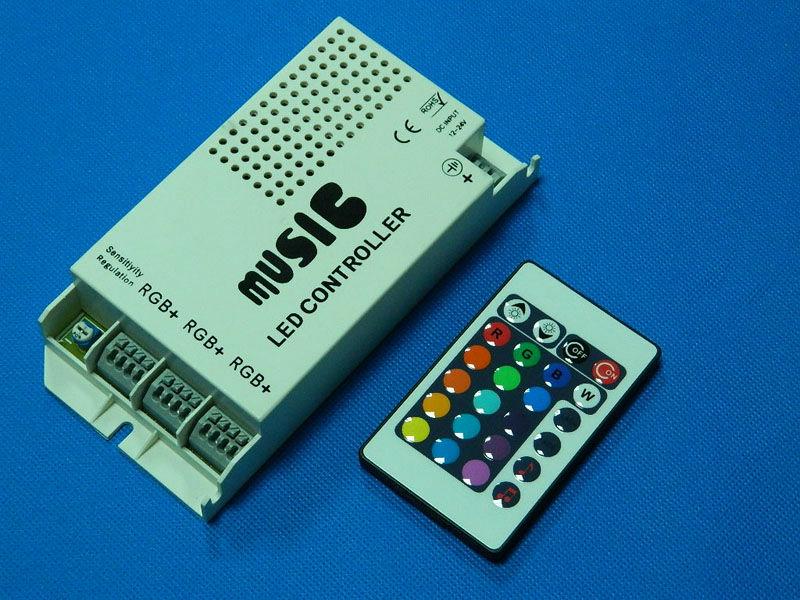 24 key led rgb strip sound ir musical controller