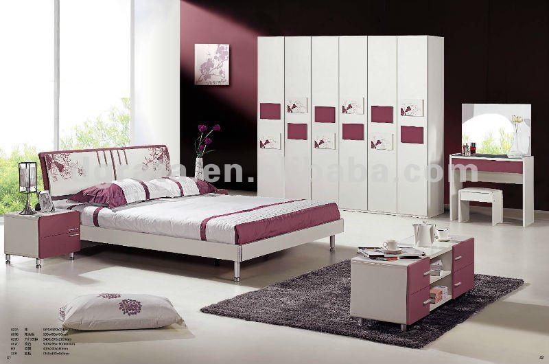 2012 nouveau design classique mobilier de chambre adulte - Modele de peinture pour chambre adulte ...