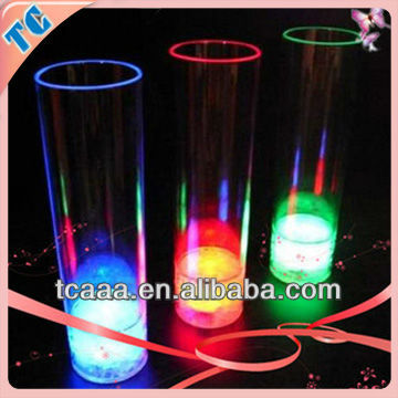 Best seller led flashing cup,led flashing barware,led glass