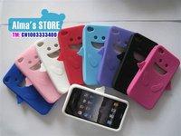 Чехол для для мобильных телефонов for Iphone4 4G case Angel cover silicon case 100pcs/lot