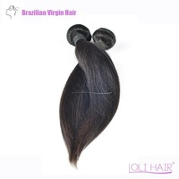 Brazilian Virgin Straight Hair Extension Weft / 6A Grade 100% Real Human Hair / 5 Pcs Per Lot / Virgin Brazilian Hair Bundles
