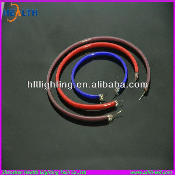 Circular UVA/UVB/UVC lamp