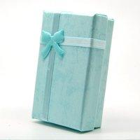 Подарочная коробка для ювелирных изделий Gift Paper Stripe Jewelry Boxes, Necklace cases, Earring Box Size 5*8cm