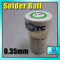Промышленная машина NEW All Sn63Pb37 BGA leaded solder ball 250K 0.35 mm 0.350