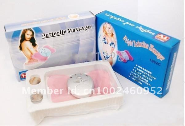 free shipping Electronica Slimming Butterfly Body Muscle Massager