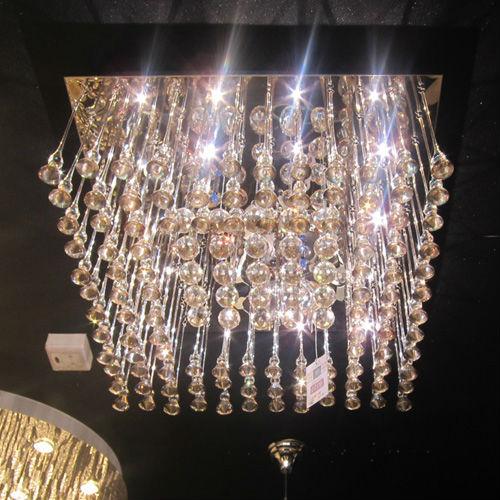 Hot Sale Rectangular Crystal Chandelier Unique Crystal