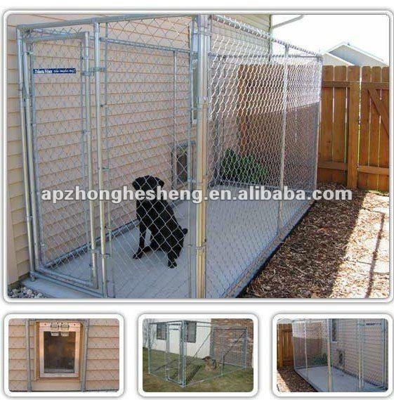 High quality folding metal dog fence with net
