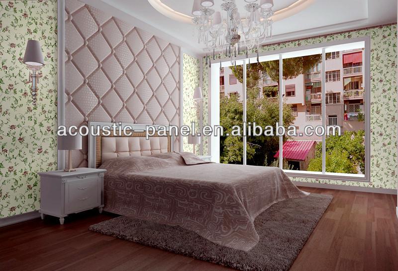 d coratif tissu rembourr panneau mural panneau d. Black Bedroom Furniture Sets. Home Design Ideas
