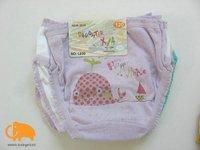 Шорты для девочек 2 pcs/lot, kids underpants, cartoon soft loose breathable bread pants, kids underwear, children garment