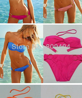 New Arrival!! Free Shipping Sunlun Ladies' Fashion Solid Color Bikini Women Sexy Bikini SCW/12019
