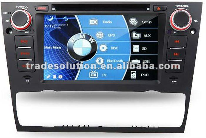 Android 2.3 Car PC DVD with GPS 3G WiFi Bluetooth ipod support 1.2G dual core and 1G memory For BMW E90,91,92,93