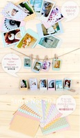 Freeshipping! New cute polaroid milky Pastel color photo frame sticker / 20 pcs/set note deco label / Multifunction / Wholesale
