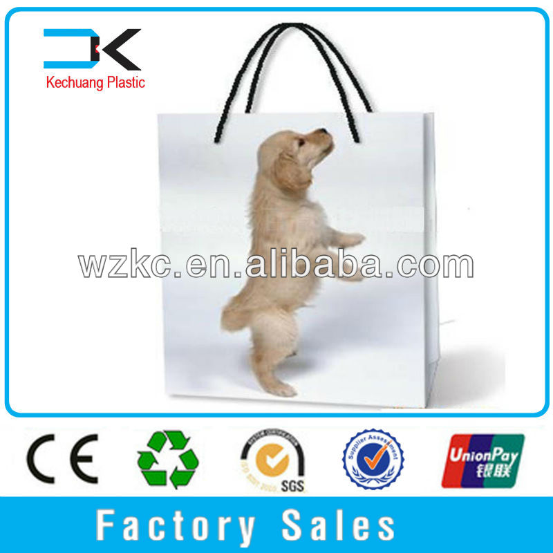 PP Plastic New design Shopping recycled plastic bottle tote bag