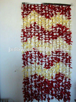 Plastic leaf bamboo door curtain