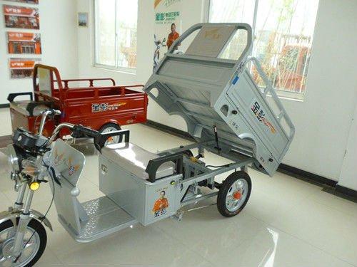 650W electric three wheeler cargo scooter