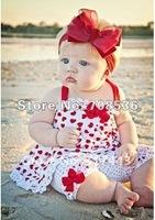 Комплект одежды для девочек New summer Girl's 2pc set Love heart Girl Halter dress with leggings Baby sundress Children dress Kids dress kids wear