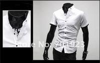 праздник /drop доставка Европа Стиль мужской моды короткий рукав рубашки y3575