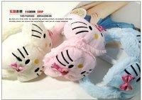 Детские меховые наушники Kitty , 4 , 20pcs/lot 408