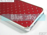 Чехол для для мобильных телефонов for iphone 4S case fit 4 and 4S Electroplating, luxury, bring bring 10pcs many colors