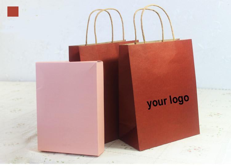 Detail Feedback Questions sobre saco de papel kraft de presente de logotipo personalizado / saco de papel kraft marrom reciclável / transporte saco de papel kraft branco com embalagem em de no AliExpress.comAlibaba group - 웹