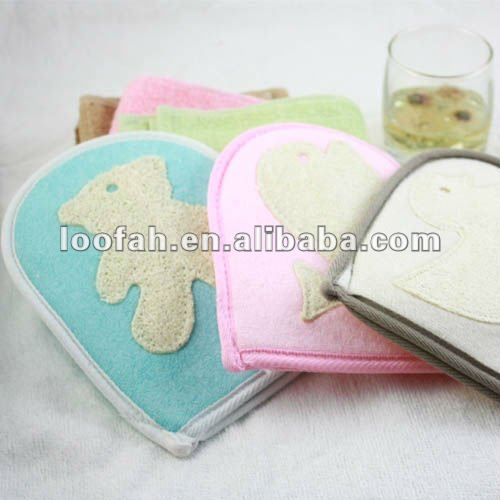 natural loofah bath sponge