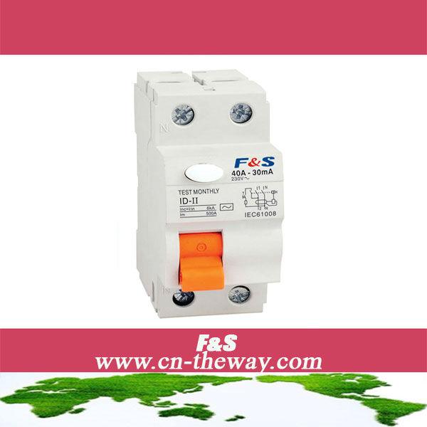 ID-II 2P 40A RCCB