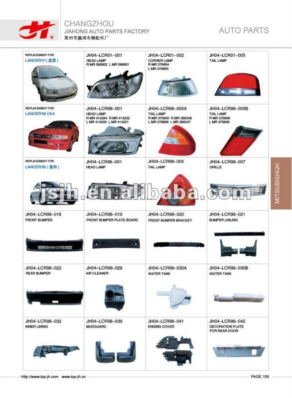 for MITSUBISHI TRITON'05/L200 & L300'05 spare parts page 153