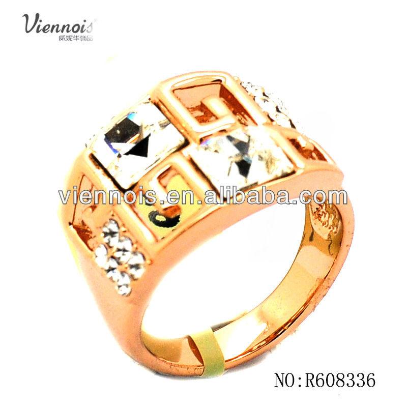 Nep Diamanten Ring 18k Nep Diamanten Ringen