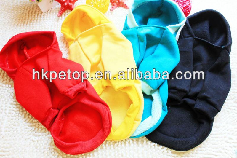 Plain Color Pet Dog Clothes