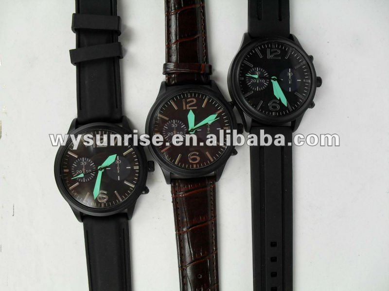 q&q alloy quartz wrist watch for couple gift