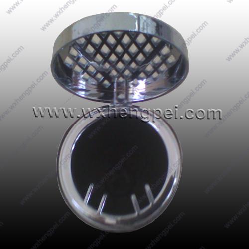 Portable plastic ashtray