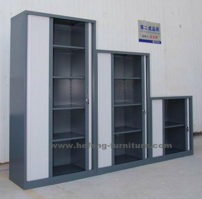 Cabinet de la porte tambour volet roulant porte armoire for Meuble bureau volet roulant