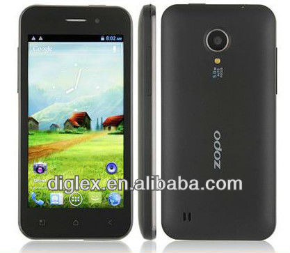 2013New arrival Original Zopo ZP500+ MTK6577 512MB RAM 4GB ROM Android 4.0.3
