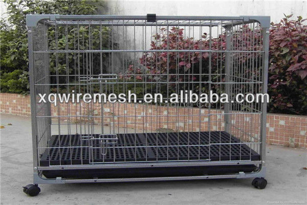 Dog Play Pen/Dog Cage with Two Doors