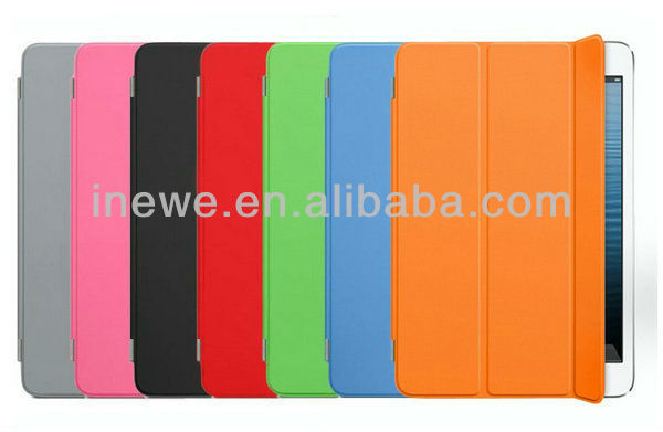 for Mini iPad smart cover with transparent hard case