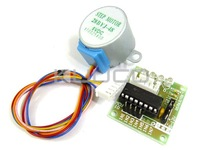 Шаговый двигатель Step Motor And Driver Board 5 /dc Gear ULN2003 5V 4 28ybj/48 #090055 Gear Stepper  Motor Driver Board